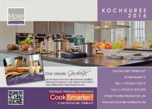"""Download Kochkurse in der Kochschule """"Tafelkunst"""" in 56841 Traben-Trarbach als .pdf"""