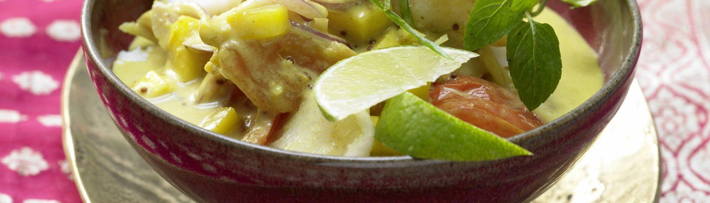 Fisch-Curry nach Kerala Art